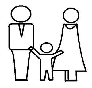 family black contour